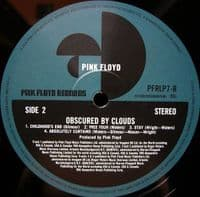 PINK FLOYD Obscured By Clouds Vinyl Record LP Pink Floyd 2016